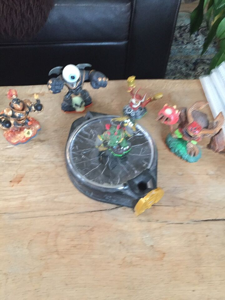 Portal til skylander og figuer til spillet ipad,