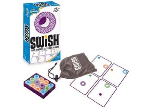 ThinkFun - Swish Game NEW * transparent card game