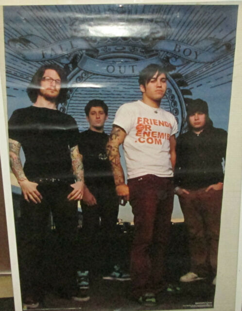 FALL OUT BOY POSTER  RARE NEW POSTER 2006 VINTAGE