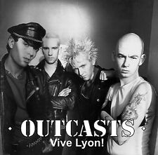 The Outcasts Vive Lyon! CD ORIGINAL IRISH PuNk Belfast Good Vibrations KBD