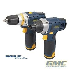 GMC 12V Drill & Impact Driver Cordless Twin Pack Power diy tool GTPDDID12 262850