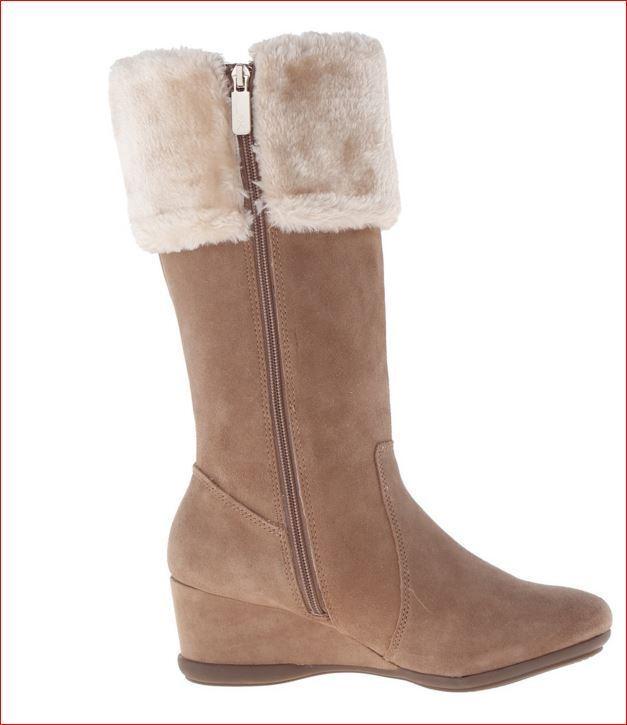 Anne Klein Sport Inda Wedge Boots 10