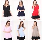 New Womens Ladies Girls V Bar Skater Summer Ladies Party Mini Dress Size 8-18
