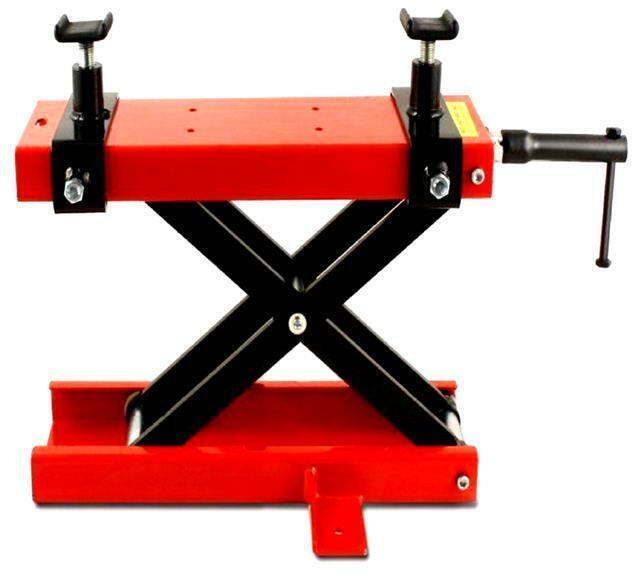 Progen Motorbike Motorcycle Table Bench Workshop Scissor Lift Jack Stand Paddock