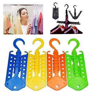 Magic-Hanger-Wardrobe-Space-Saving-Folding-Multi-Hook-Organiser-Clothes-Hanging