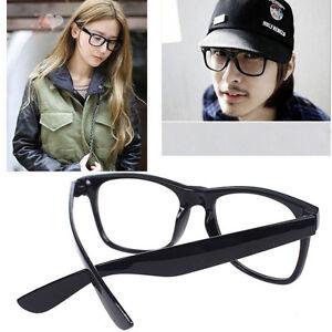Women s Hipster Eyeglass Frames : Men Women Black Retro Hipster Sunglasses Oversized Frame ...