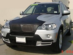 Colgan T-Style Hood Bra Mask Fits 2004-2006 BMW X5 EMBLEM