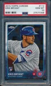 2015-Topps-Chrome-Baseball-Kris-Bryant-R-112-PSA-10-CUBS-GEM-MINT