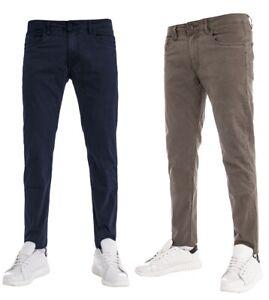 Pantalone-Cinque-Tasche-Tinta-Unita-Uomo-Slim-Fit-Vari-Colori-Cotone-GIOSAL