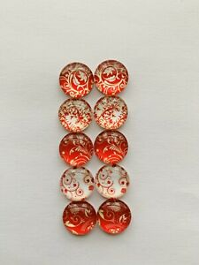 5-Pairs-Of-12mm-Cabochons-1004