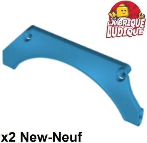 Lego technic 2x Panel Car Mudguard Arched garde boue 15x2x5 dark azure 24118 NEW