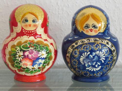 Babuschka Matroschka Matrjoschka Matruschka russische Puppen 10 teilig 10 tlg