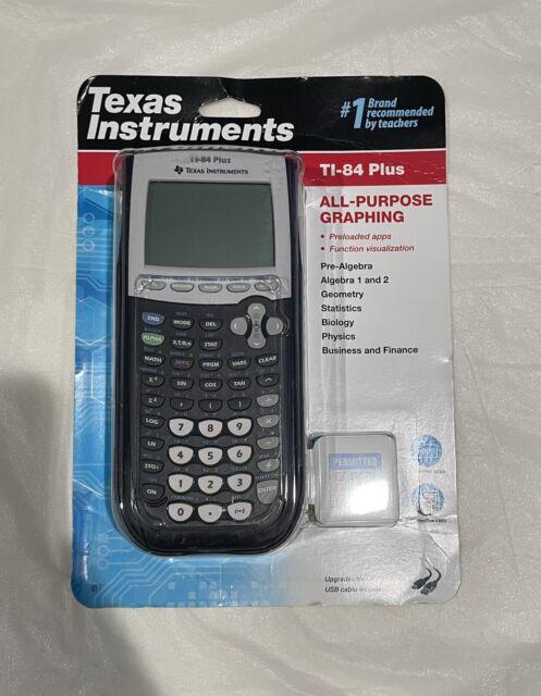 Texas Instruments TI-84 Plus All Propuse Graphics Calculator, Black