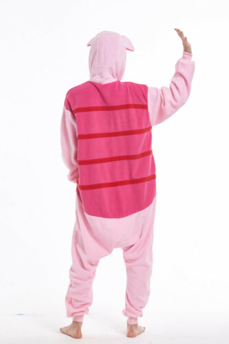 Piglet Pig Adult Pajamas Animal Cosplay Costumes Anime Kigurumi Onsie0 Sleepwear