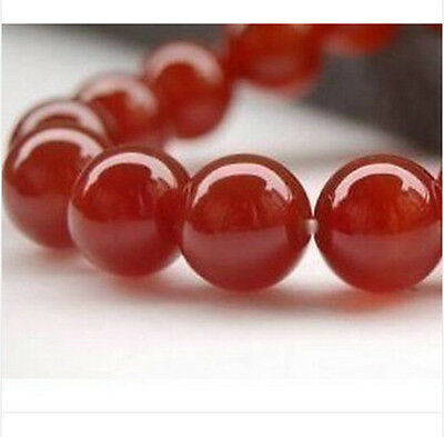 """Multi-types AAA Perfect Red GEM Ruby Round Loose Beads Gemstone 15"""" 4mm--14mm"""