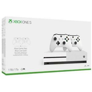 MICROSOFT-Console-Xbox-One-S-1TB-2-Controller-Wireless-1-Mese-Gamepass