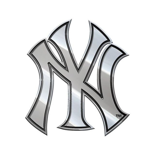 new york yankees chrome plated metal auto truck emblem officially Vermont Emblem new york yankees chrome plated metal auto truck emblem officially licensed