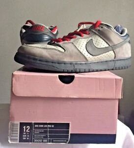 8c6982bc0298 05 Nike Dunk Low Pro SB BAND-AID GINO IANUCCI BONE FLINT GREY RED ...