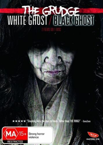 1 of 1 - The Grudge - White Ghost / Black Ghost (DVD, 2010)