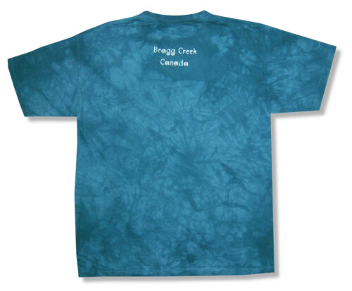 Mountain Gathering Animal Nature Kids Youth Blue Tie Dye T-Shirt New Official