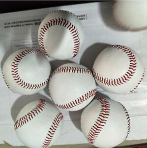 9-039-039-White-Baseball-Practice-Training-Base-Balls-Ball-Sport-Team-Game-Teen-Newest