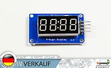 4 Bit digital segment LED Display Modul TM1637 Treiber für Arduino Raspberry Pi