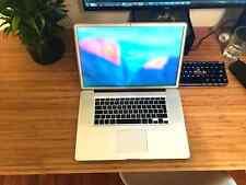 """17"""" MacBook Pro Mid 2010 i7 2.66 GHz Intel Core i7 8GB RAM 500GB HDD"""