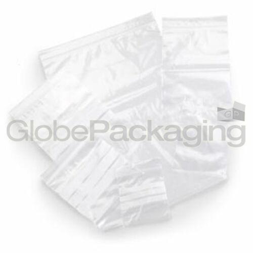 "200 x Grip Seal Resealable Poly Bags 13/"" x 18/"" GL16"