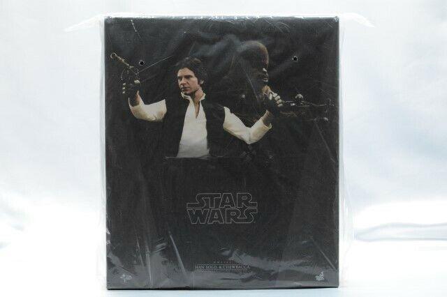 Caliente giocattoli estrella guerras Han Solo Chewbacca 1 6 Scale  cifra Set w bounus accessories  in vendita