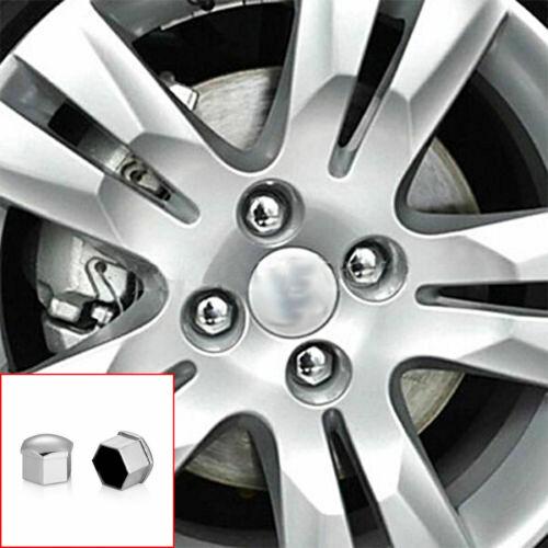 21mm 20 X Aleación Tuerca De La Rueda Tapas Perno Cubre ajuste Mercedes Benz//C E S R Universal