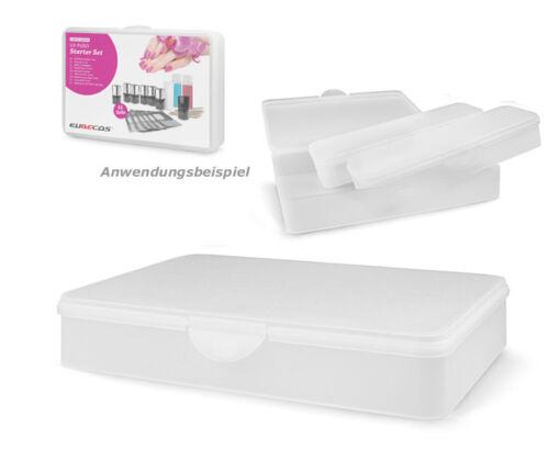 Aufbewahrungsbox Allzweckbox Kunststoff Sammelbox  Utility Box clear LARGE CASE