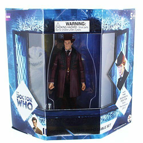Doctor Who 5 Action Figures The Impossible Set w The Eleventh Doctor and Oswin