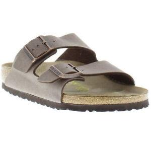 New-Birkenstock-Women-039-s-and-Men-039-s-unisex-Arizona-Sandal-brikoflor-Shoes-Mocca