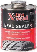 5-day Sale Xtra Seal Tire Bead Sealer 32 Oz Black W/brush Top Can Pro Quart