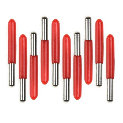 10stk 3.175mm 30 Degree 0.1mm PCB Hartmetall Gravur Bits CNC Milling Cutters