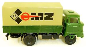 Ifa-Mz-W50-Flatbed-Truck-Tarpaulin-Various-Colours-H0-1-87-A