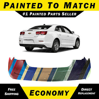 Painted To Match Front Bumper Cover Replacement for 2016-2018 Chevy Malibu 16-18