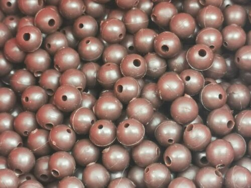 RUBBER TAPERED BEADS SHOCK SIZES 6MM /& 8MM CARP RIGS CHOD RIGS GRN AND BRN