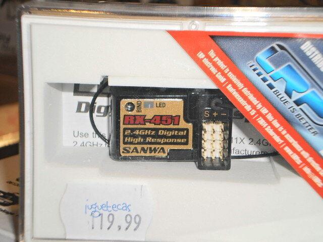 RECEPTOR 4 CANALES RX-451 SANWA