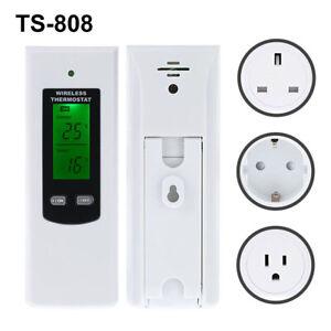 Fj-TS-808-Telecomando-senza-Fili-RF-Temperatura-Controller-Presa-Termostato-F
