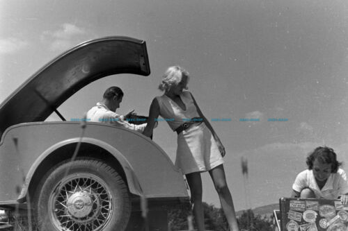 F000521 Vacation by car BdM Germany 1930s