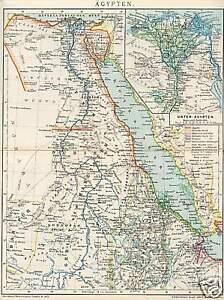 Cartina Yemen.Egitto Eritrea Dar Fur Nubien Cartina Geografica Di 1898 Rosso Mare Yemen Sainai Ebay