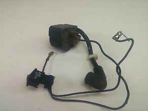 Stihl Bg 85 Gas Leaf Blower Ignition Coil Wires On Off