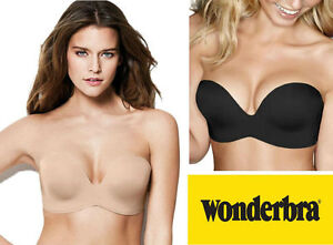 9c33f8166fe54 Image is loading Wonderbra-Ultimate-Strapless-Underwired-Bra -W032D-Magic-Hand-