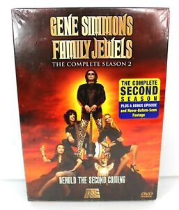Gene-Simmons-Family-Jewels-The-Complete-Season-2-DVD-3-Disc-Set-2007-New-Sealed