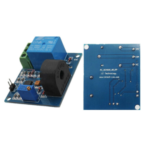 12V 5A Over Current Protection Sensor Module AC Current Detection Sensor Relay