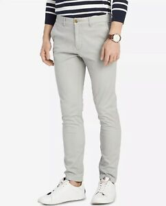 Tommy Hilfiger Homme Coupe Slim Casual Pantalon Chino