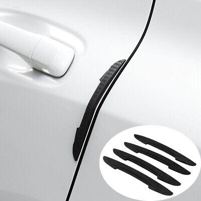 4Pcs Car SUV Door Edge Guard Strip Scratch Protector Anti-collision Trim Sticker
