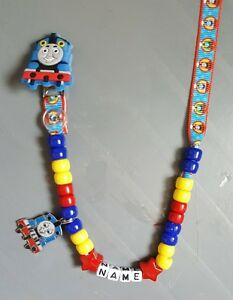 THOMAS-THE-TANK-PERSONALISED-DUMMY-CLIP-FREE-MAM-RING-READ-DESCRIPTION
