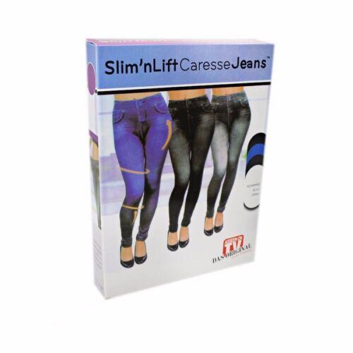 Ladies Caresse Slimming Skinny Fit Slim Jeggings Jeans Shapewear Body Shaper